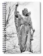 The Snow Angel Spiral Notebook