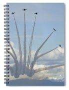 The Snowbirds In High Gear Spiral Notebook