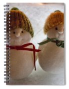 The Snowdens Are Engaged Spiral Notebook