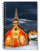 The Snowdens At Church Spiral Notebook