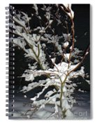 The Snowy Tree Spiral Notebook