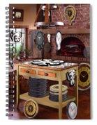 The Soft Clock Shop 2 Spiral Notebook