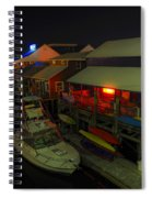 The Solace Of Night Spiral Notebook