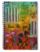 The Song Of My Own Belief Spiral Notebook