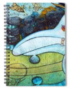 The Song Of The Mermaid Spiral Notebook