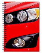 The Sonic's Eye Spiral Notebook