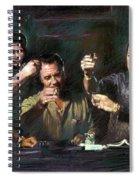 The Sopranos Spiral Notebook