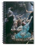 The Souls Of Acheron Spiral Notebook