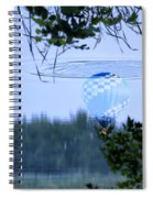 The Source Of Lake Ripples 01 Spiral Notebook