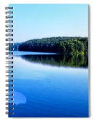 The Source Of Lake Ripples 02 Spiral Notebook