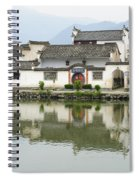 The South Lake In Hongcun Village Spiral Notebook