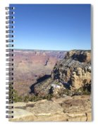 The South Rim In The Winter Spiral Notebook