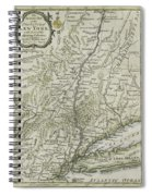 The Southern Part Of The Province Of New York Spiral Notebook