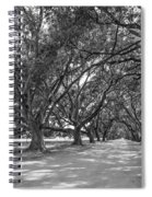 The Southern Way Bw Spiral Notebook