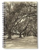 The Southern Way Sepia Spiral Notebook
