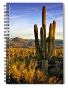 The Southwest Golden Hour  Spiral Notebook