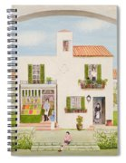 The Spanish Greengrocer, 1981 Spiral Notebook