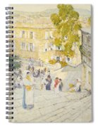 The Spanish Steps Of Rome Spiral Notebook
