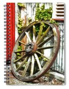 The Spare Wheel  Spiral Notebook