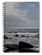 The Sparkling Sea Spiral Notebook