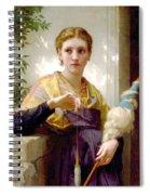 The Spinner Detail Spiral Notebook