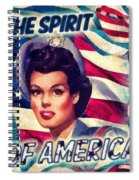 The Spirit Of America Spiral Notebook