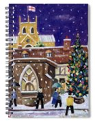 The Spirit Of Christmas Spiral Notebook