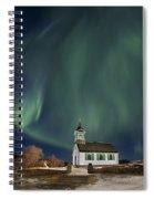 The Spirit Of Iceland Spiral Notebook