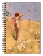 The Spirit Of The Drought Spiral Notebook