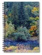 The Spokane River In The Fall Colors Spiral Notebook