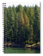 The Spokane River On Easter Sunday 2014 Spiral Notebook