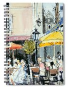 The Square At St. Malo Spiral Notebook