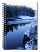 The St. Croix River In December Spiral Notebook
