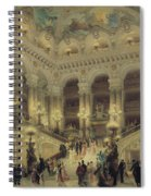The Staircase Of The Opera Spiral Notebook
