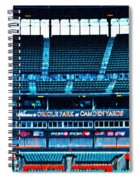 The Stands At Oriole Park Spiral Notebook