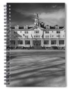The Stanley Hotel Bw Spiral Notebook