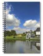 The Star Barn After The Storm Spiral Notebook