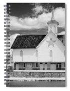 The Star Barn - Infrared Spiral Notebook