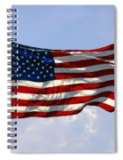 The Star Spangled Banner Spiral Notebook