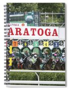The Start At Saratoga Spiral Notebook