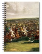 The Start Of The Memorable Derby Of 1844 Spiral Notebook