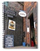 The Station Tea Room Spiral Notebook
