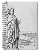 The Statue Of Liberty New York Spiral Notebook