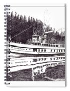 The Steamer Virginia V Spiral Notebook
