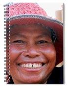 The Sticky Rice Lady Spiral Notebook