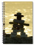 The Stone Couple Spiral Notebook
