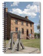 The Stone House At Manassas Spiral Notebook