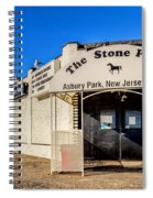 The Stone Pony Asbury Park New Jersey Spiral Notebook