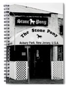 The Stone Pony Asbury Park Nj Spiral Notebook