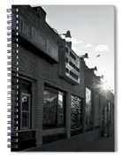 The Stone Pony Asbury Park Side View Spiral Notebook